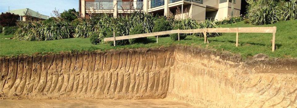 Hillside Excavation