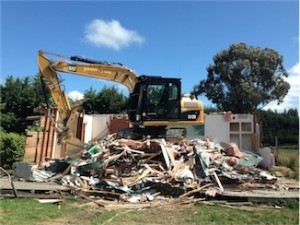 House Demolition, Christchurch