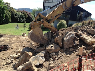 Rock Excavation and augering